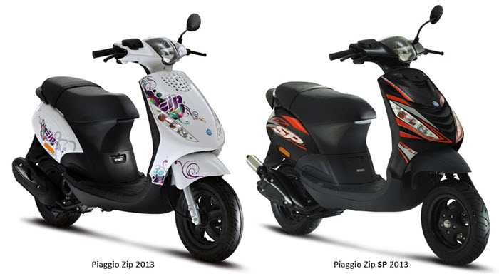piaggio zip scooter leasen