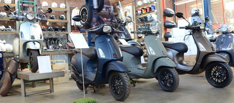 primavera scooters custom