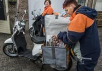Welke scooter koop je voor een krantenwijk?