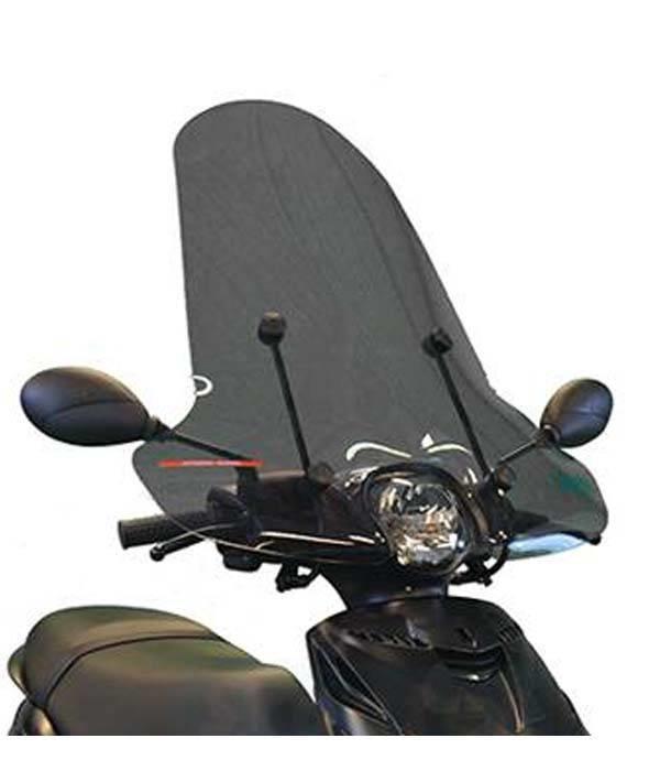 rijden scooter windscherm voor nadelen